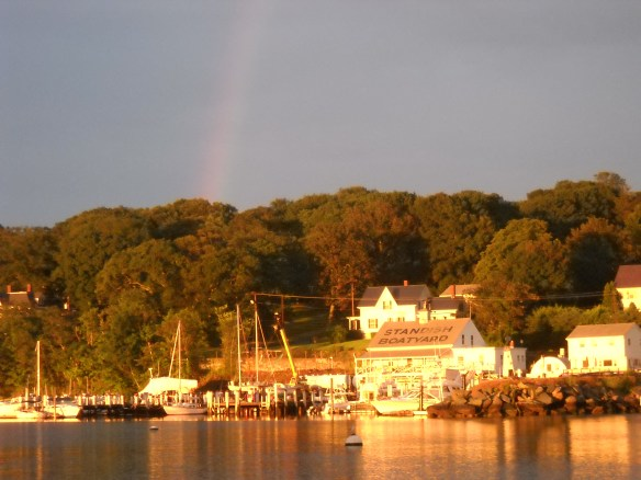 Rainbow over Tiverton