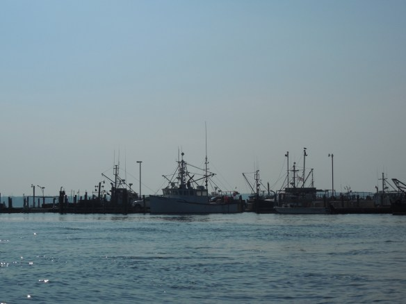 Working boats at Westport Point