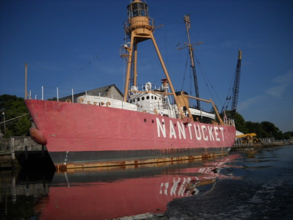 Nantucket light ship in Wareham Harbor.