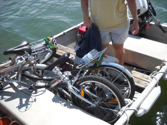 The new folding bikes.