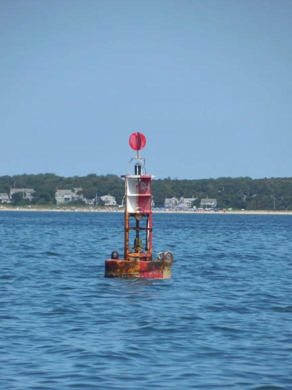 Stage Harbor buoy.