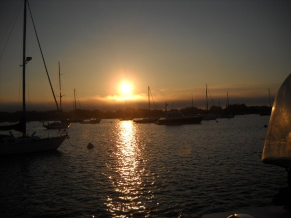 Stage Harbor sunrise