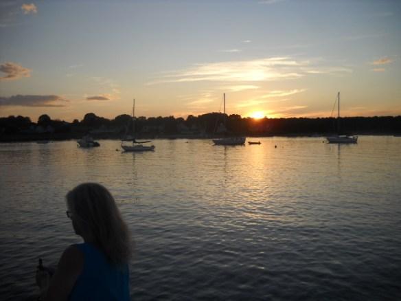 Stonington sunset.