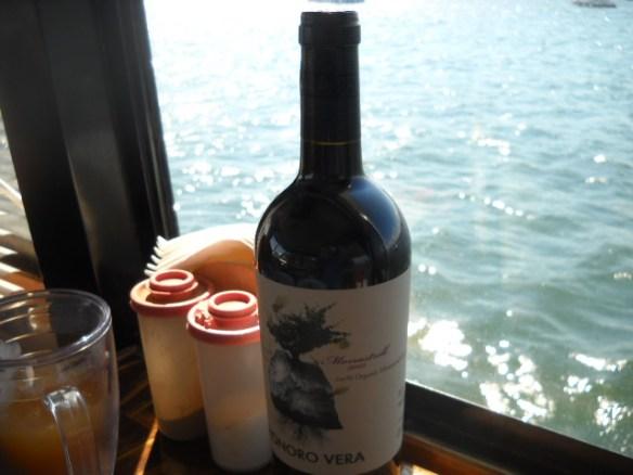 Gift wine.