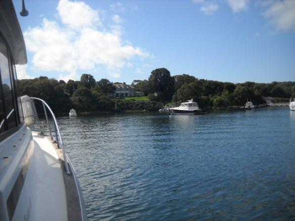 Quisett harbor mansion.