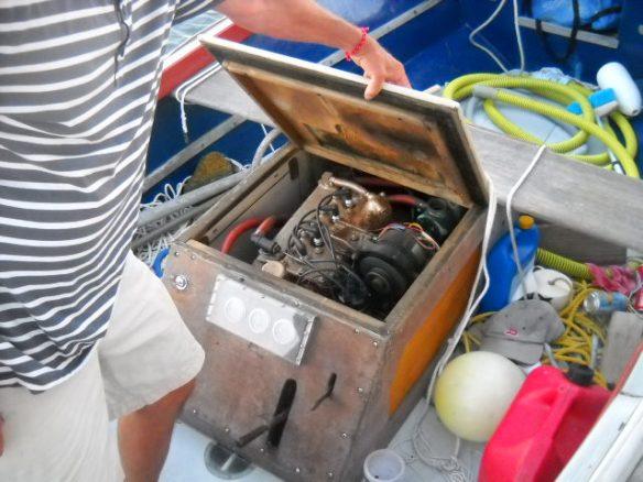 Atomic Four engine.