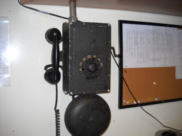 1940's com phone. Still in use.