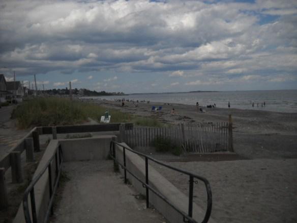 Nantasket Beach looking north.