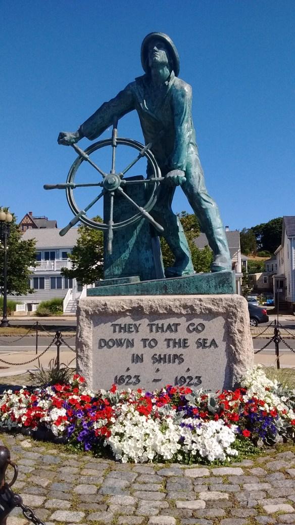 Gloucester Fishemans memorial.
