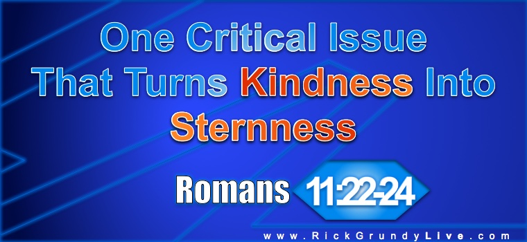 One Critical Issue That Turns Kindness Into Sternness