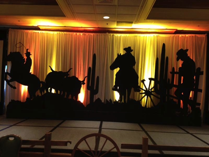Western Theme Parties and Props  Rick Herns Productions