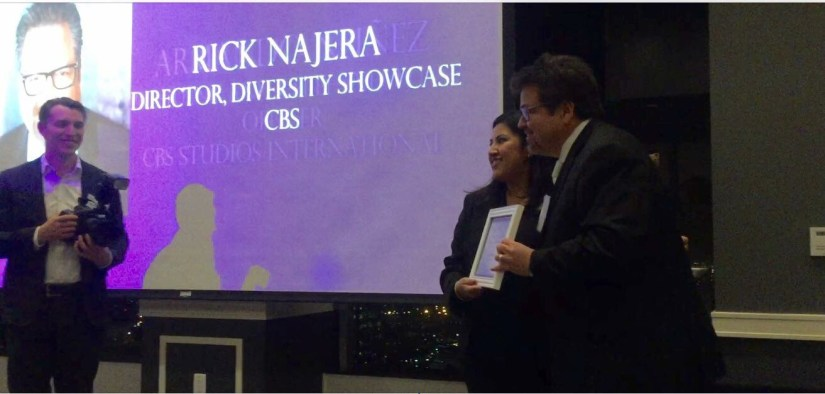 Rick Najera Honored at Most Influential Latinos in Entertainment Awards by Imagen Foundation (Nov 2016)