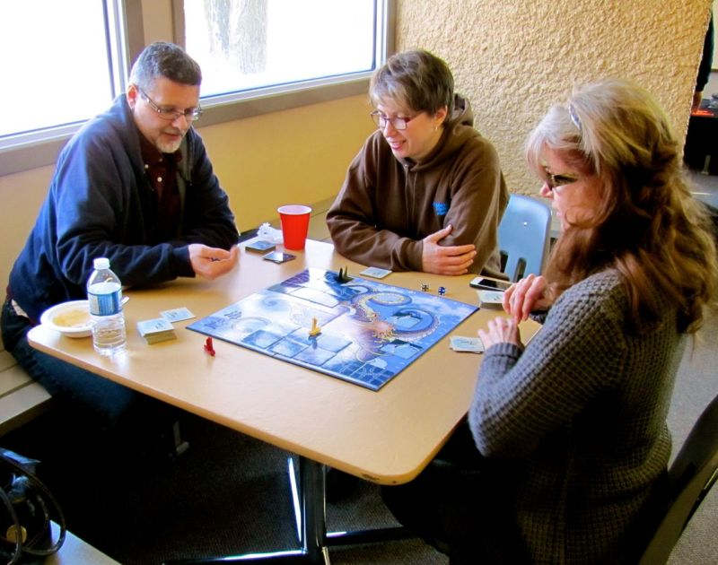 Tsuro of the Seas is always a draw. I think it's the sea monsters.
