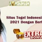 Situs Togel Indonesia Terpercaya 2021 Dengan Berbagai Bonus