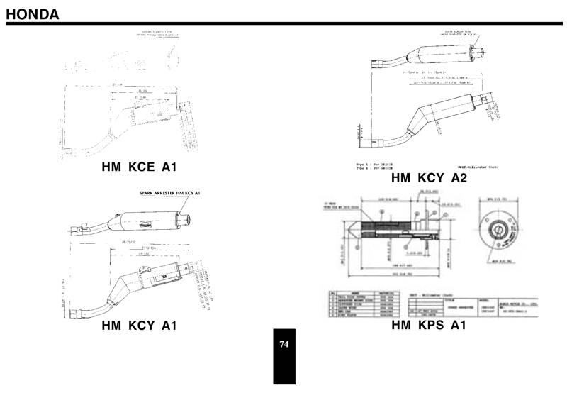 CRF230F Modifications