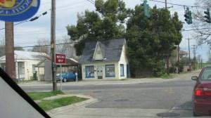 Small corner business.