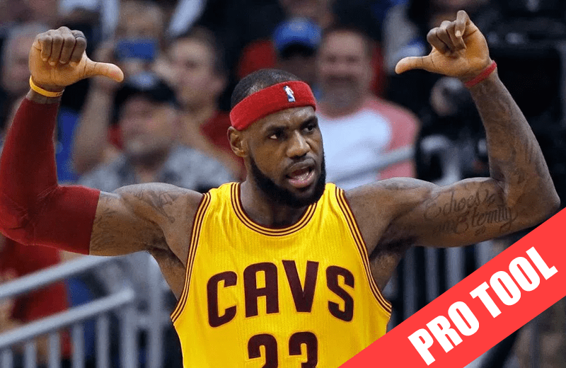 daily nba projections