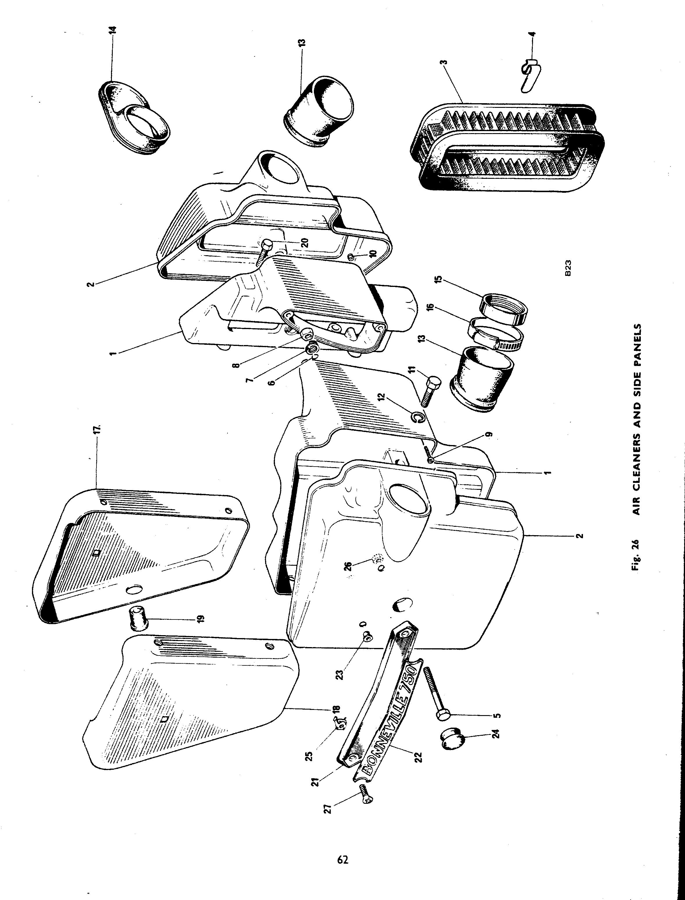 Triumph Bonneville T140V Catalog