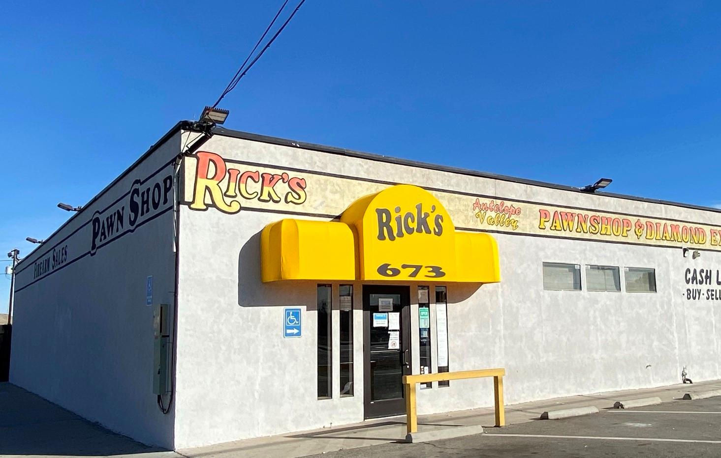 pic Rick's Antelope Valley Pawn Shop Lancaster Ca home rick s pawn shop