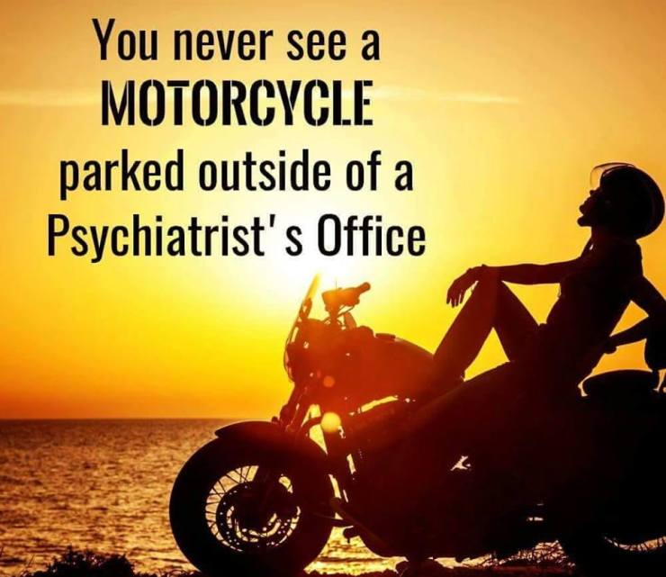 My Bike Recognizes Kindred Spirit >> Ask The Doc Is Riding A Motorcycle A Form Of Therapy