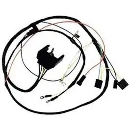 Camaro Engine Wiring Harness, All V8, For Cars With Gauges