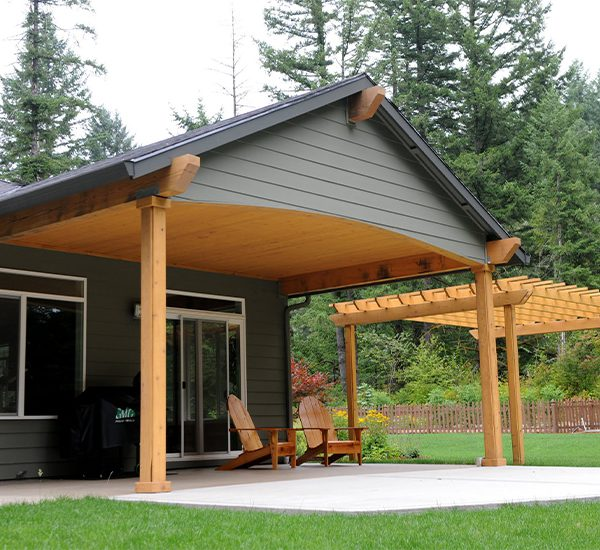wood framed patio covers rick s