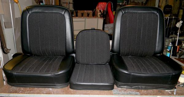 Chevy Truck Buddy Bucket Seat Covers Console