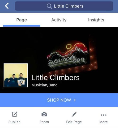 Marketing Your Band On Facebook - Little Climbers