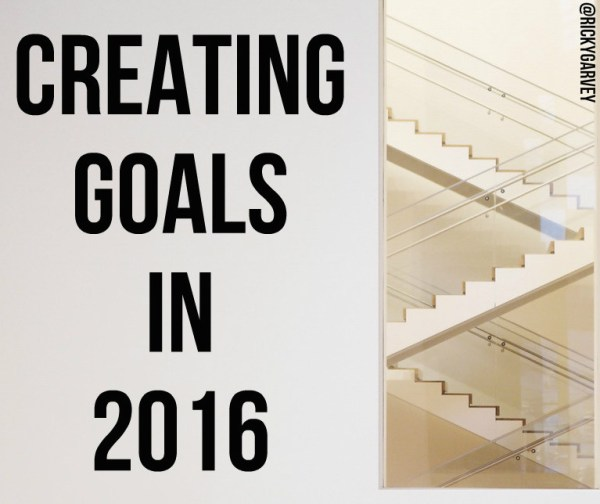 Creating Goals in 2016
