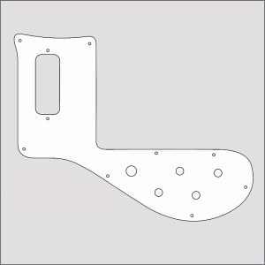 Rickenbacker Left Hand Pickguard