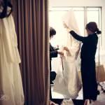 白無垢花嫁のお支度 *結婚式 写真 カメラマン*