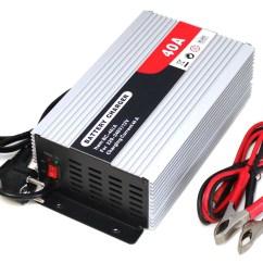 12 Volt Und 7 Anper Batterien Gell Pioneer Deh P2000 Wiring Diagram 2 Lkw Pkw Batterie Ladegerät Für 12v 40a Bc 40 A