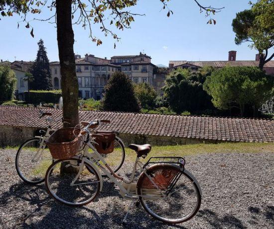 visitare lucca in bicicletta