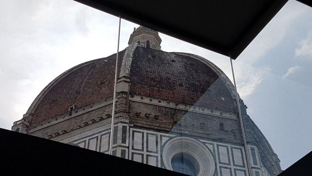 vista della cupola del Duomo di Firenze