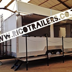 Kitchen Trailers Pendant Lighting For Island Mobile Food Trailer Sales Rico Sa Double Deluxe