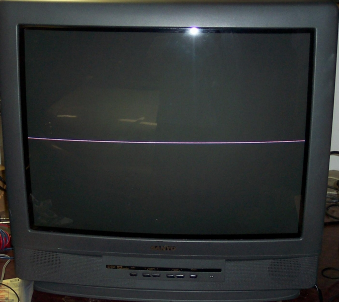 Riddled Tvcom How To Repair A Bad Vertical Horizontal Line
