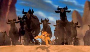 Lion King stampede Riddles Now