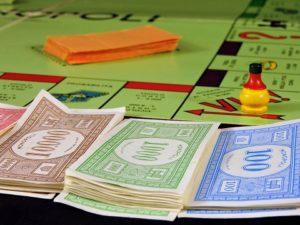 The Makers of the board game Monopoly print over 50 billion dollars worth of Monopoly money every year. Riddles Now