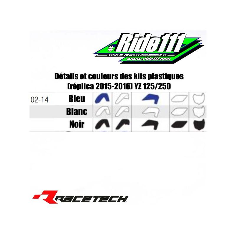 Kit plastiques RACETECH (réplica 2018 )YAMAHA 125-250 YZ