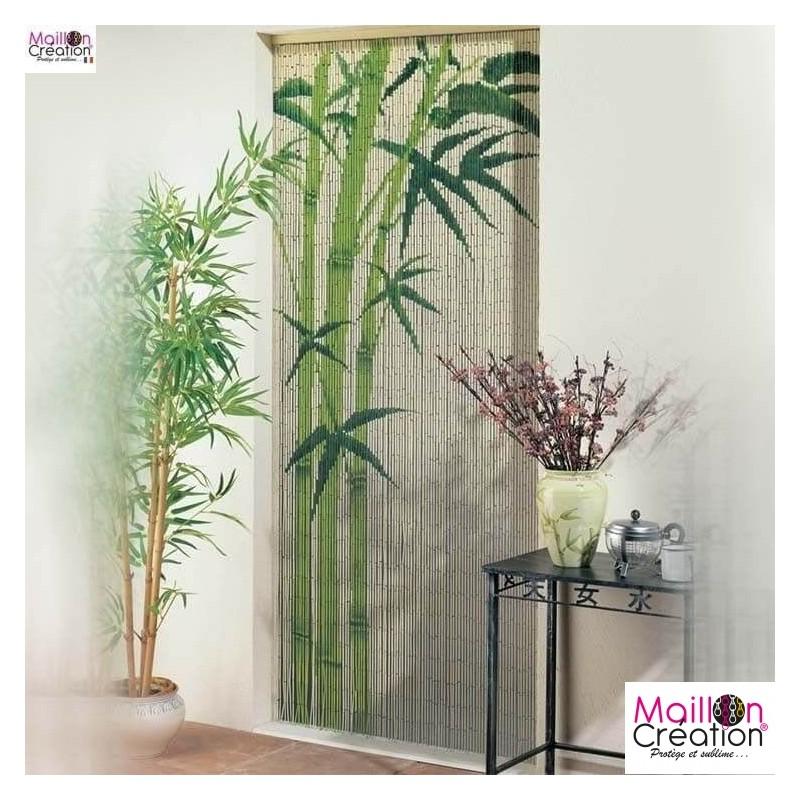 rideau bambou 90x200 bambou