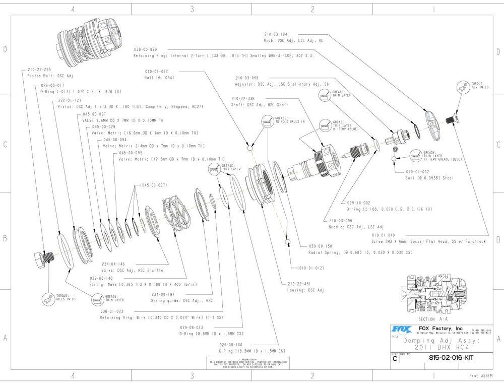 medium resolution of 815 02 016 kit damping adj assy 2011 dhx rc4
