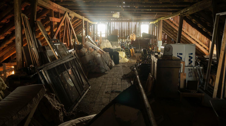 Barn attic