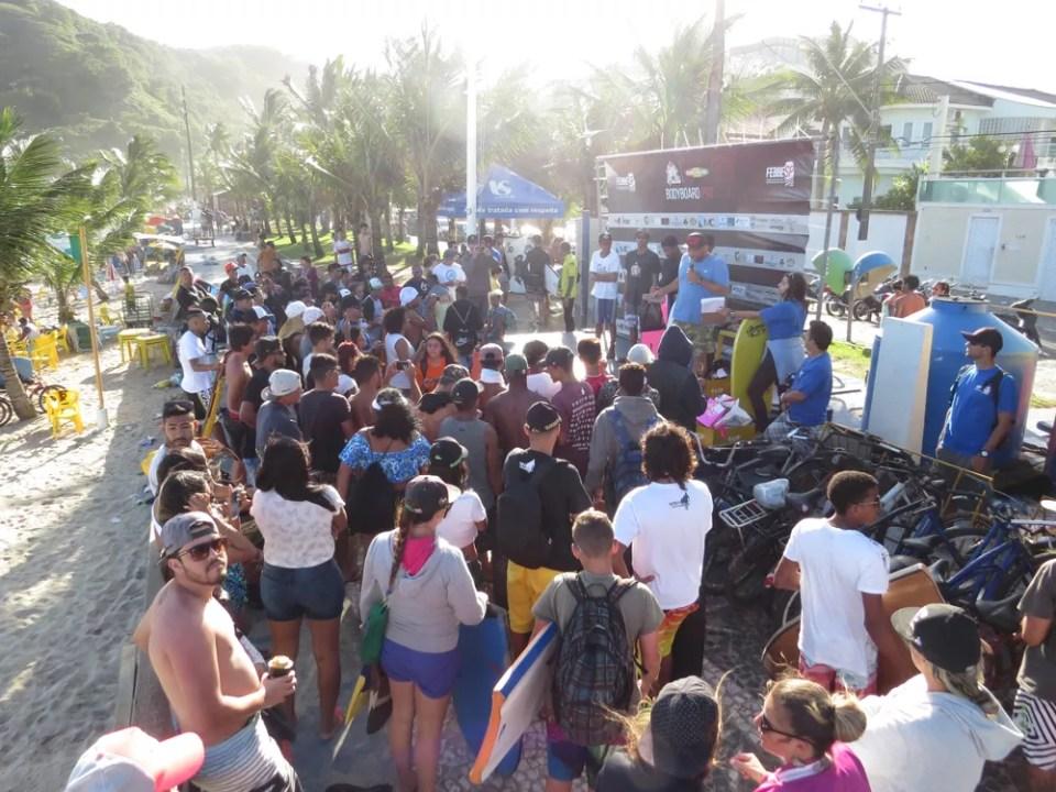 A Praia do Tombo sempre sediando importantes etapas do Bodyboard nacional.