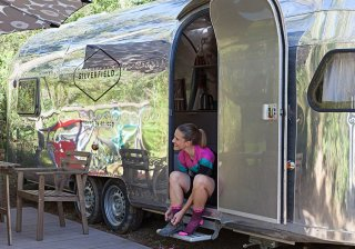silverfield punta ala camping traveling with a bike