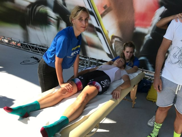 Stopcontratture massage of Friliver post race