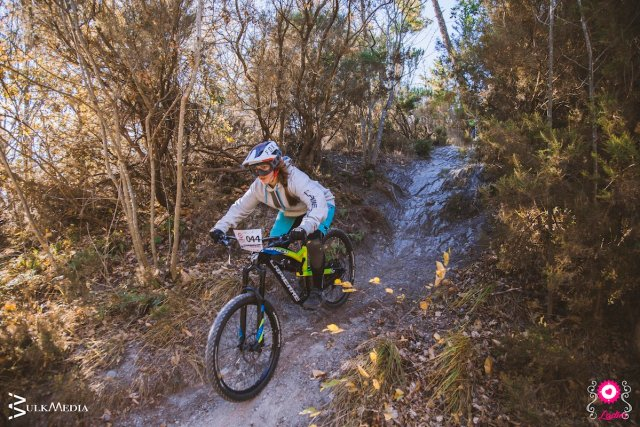 Cycling in winter in Liguria mountain bike