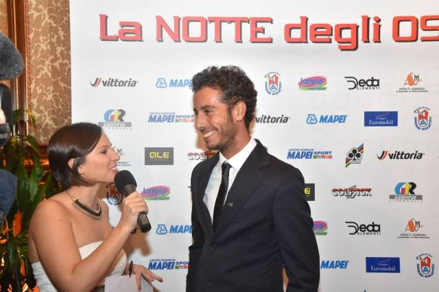 Giulia De Maio con Fabio Aru
