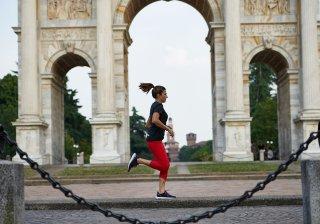 Elena Casiraghi corre a Milano