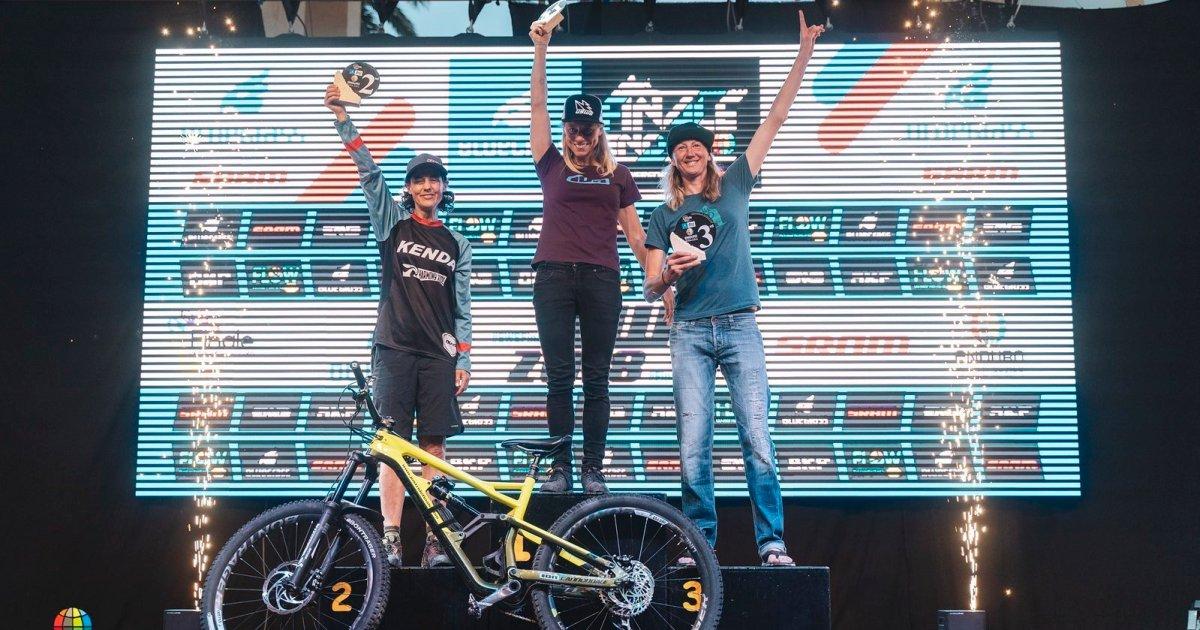 Louise Paulin podio Enduro World Series