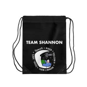 Drawstring Bag (Black)